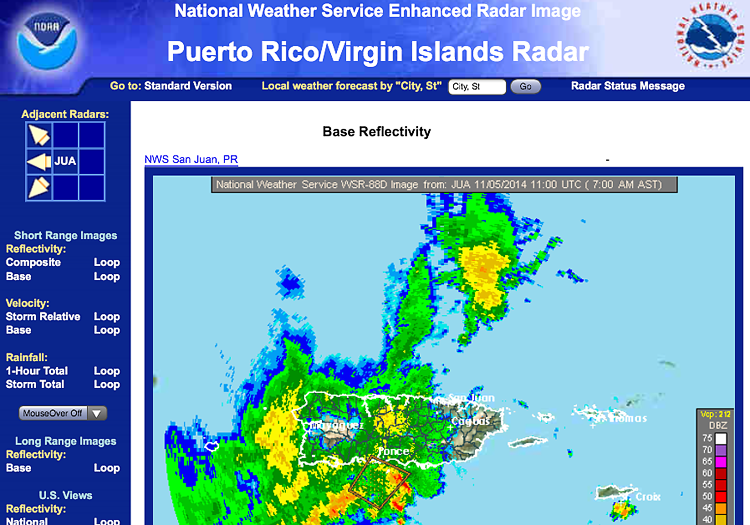 Sailing-Blog-Cruising-Caribbean-Puerto-Rico-Coffin-Island-Anchored-During-Riding-Out-Storm-Radar-Tropics-LAHOWIND-1